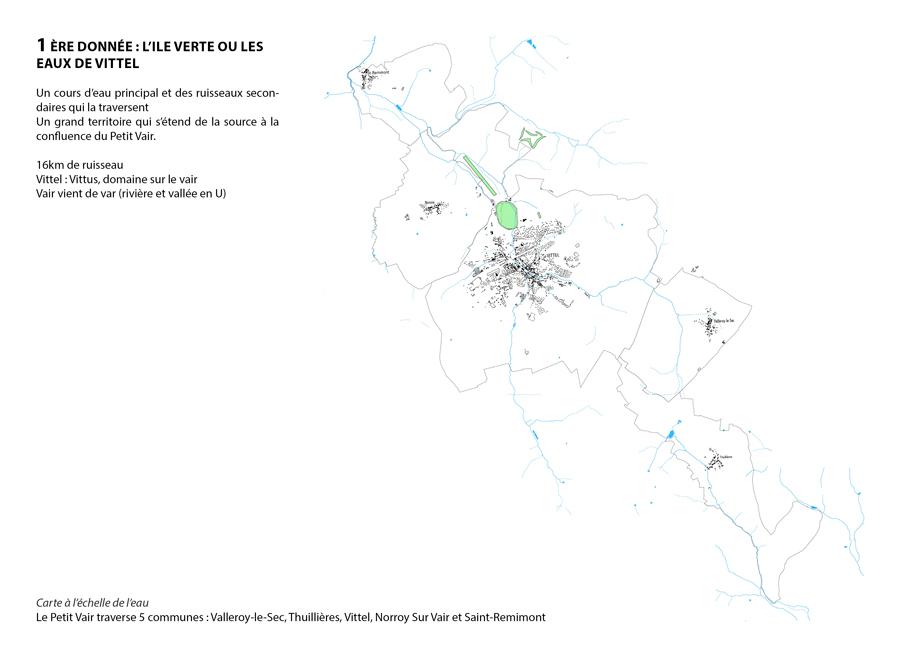 Analyse générale du secteur environnant le parcours de golf