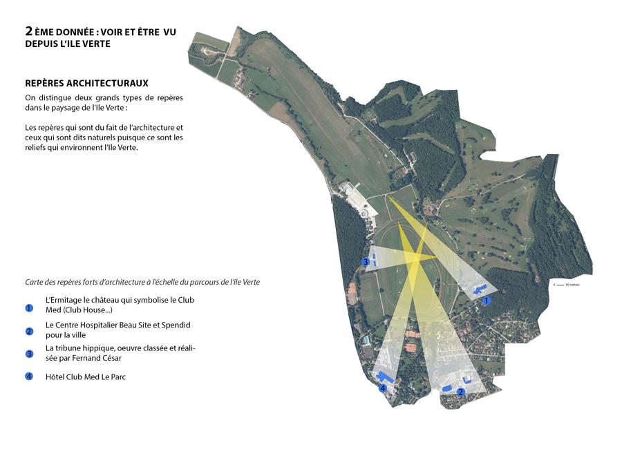 Analyse de l'architecture environnant les golfs et classée Monument Historique