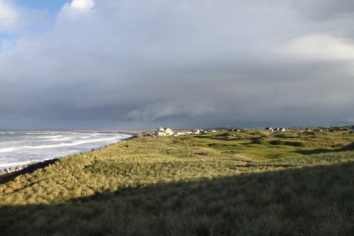 Links de Strandhill à Sligo (IRLANDE)