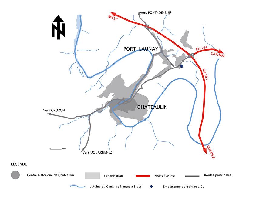Carte de situation géographique