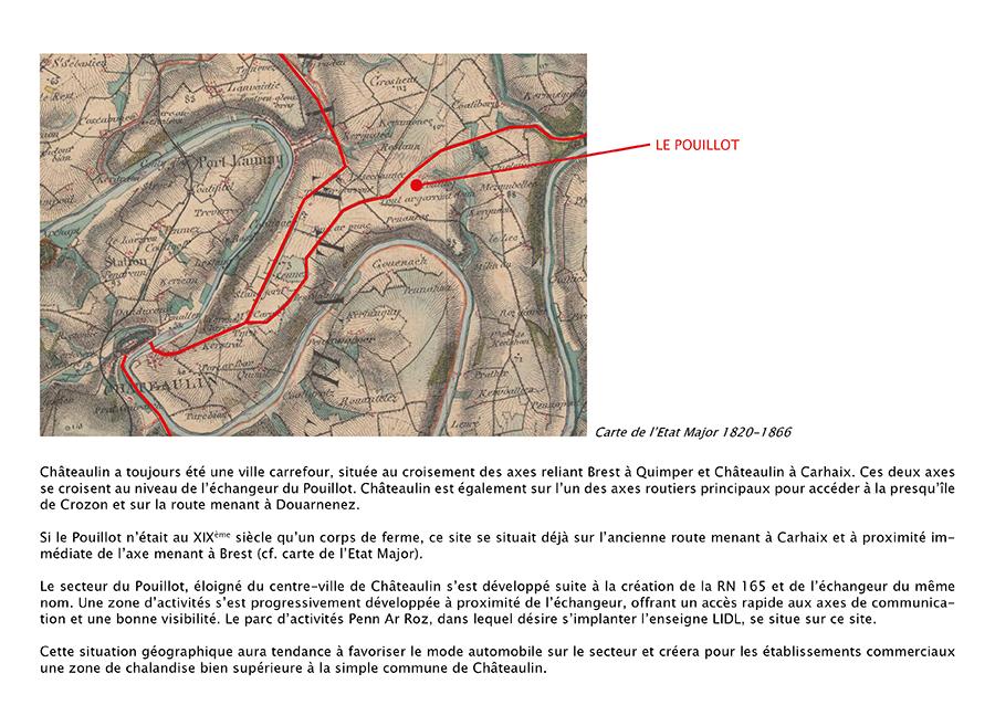 Historique du développement de Châteaulin