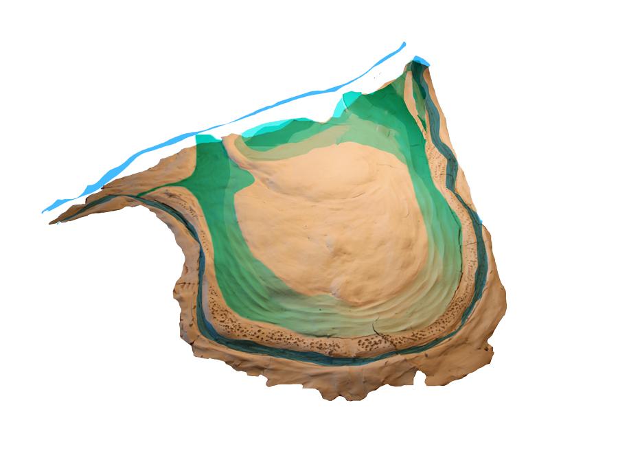 Etape 2 : Mise en eau de l'annexe hydraulique jouant le rôle d'une Mare écologique