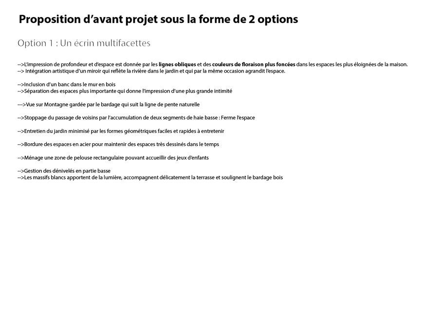 Option 1 : Ecrin multifacettes