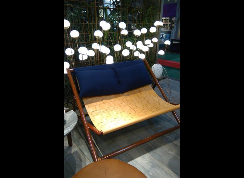 Chaise longue double