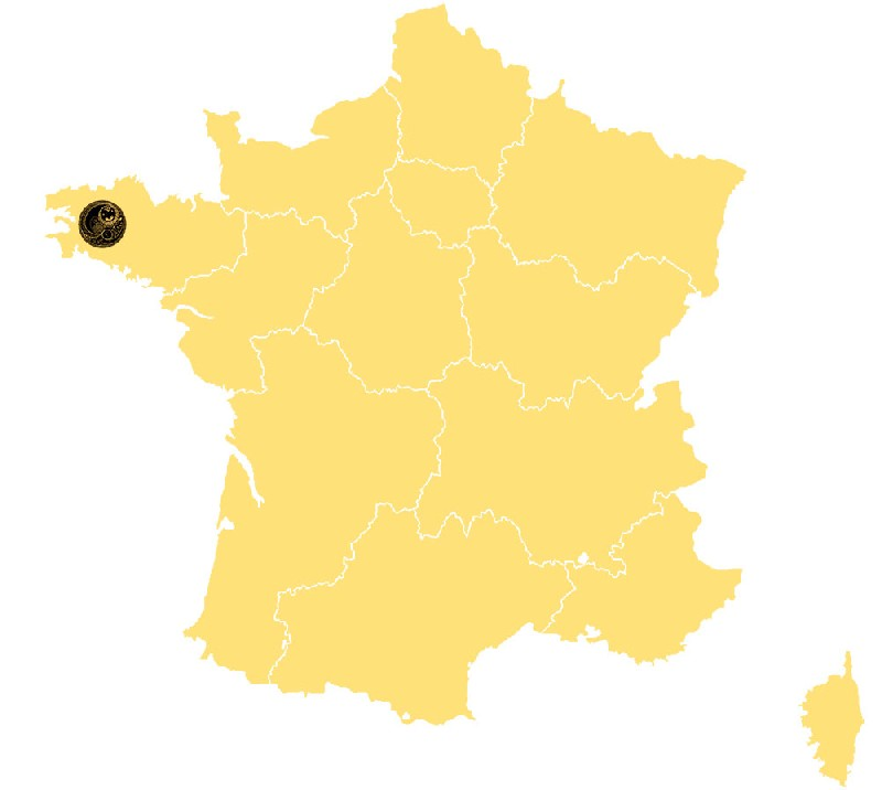 Carte d'intervention échelle de la France